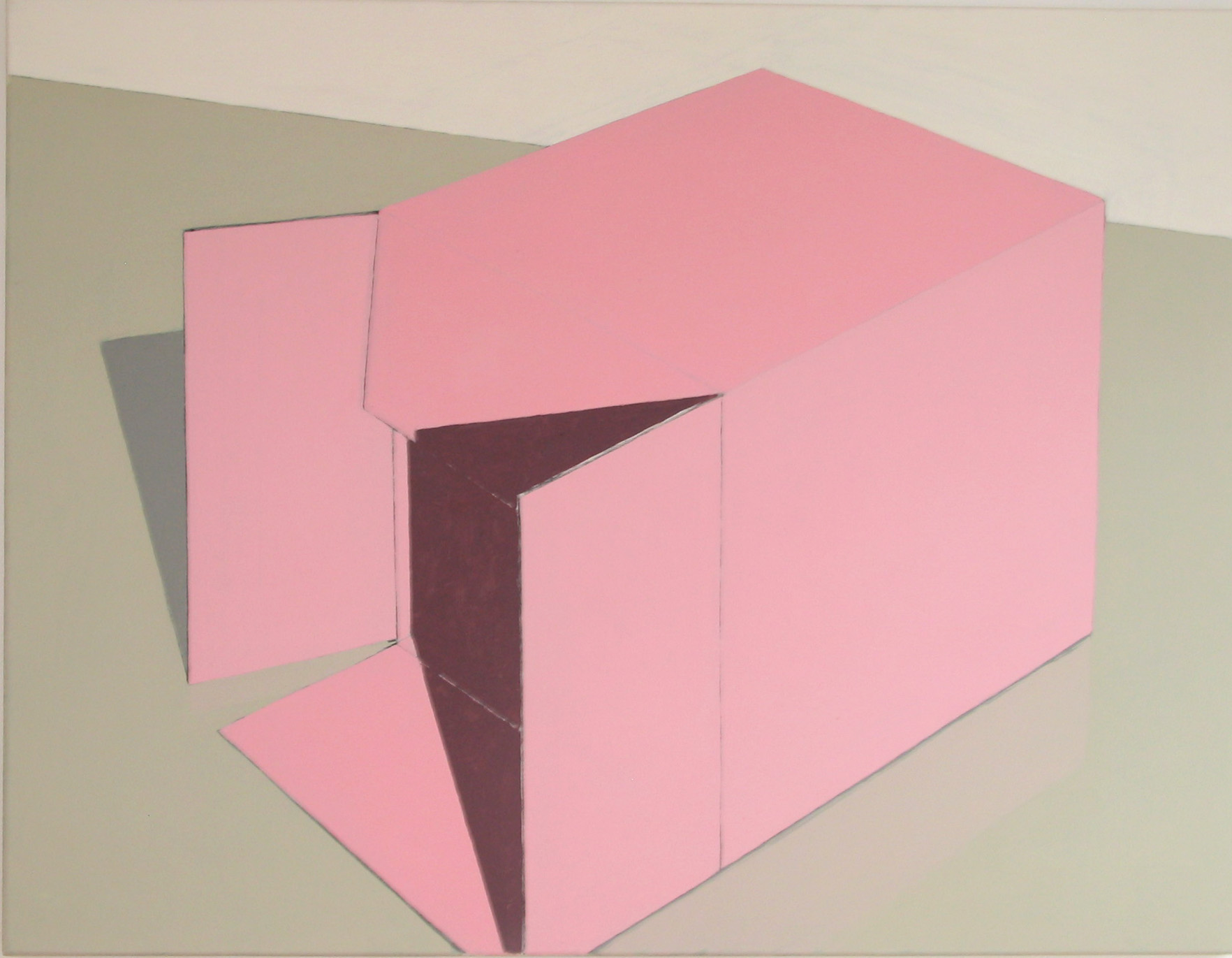 pink cardboard box 2013