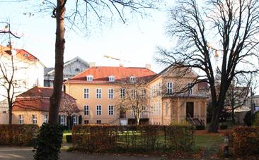 Magnus-Haus Gartenseite