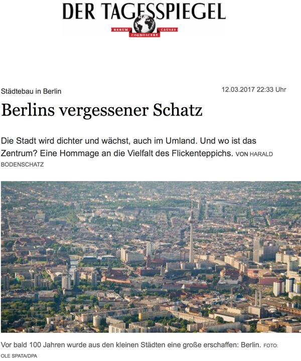 Stadtebau in Berlin