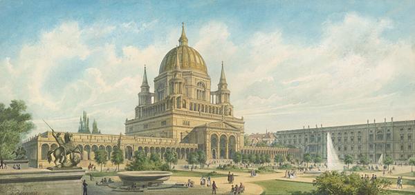 Dom zu Berlin 1867